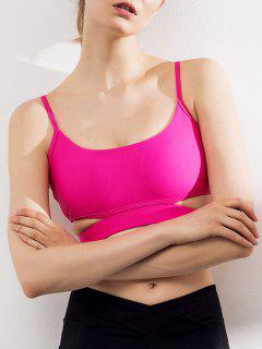Cut Out Caged Sports Bra - Cientos De Fructosa M