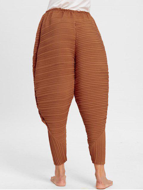 Acción de Gracias Baquetas de Pollo Pantalones Plisados - Naranja M Mobile