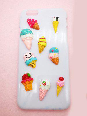 30 Pcs DIY Phone Case Decorations Cartoon Ice Creams