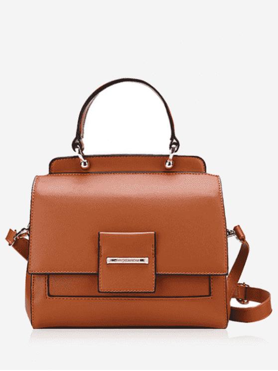 Bolsa Faux Leather Multi Function - Castanha