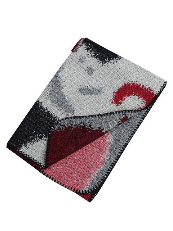 Pashmina de xaile artificial de lã artificial ao ar livre - ACU Camuflagem