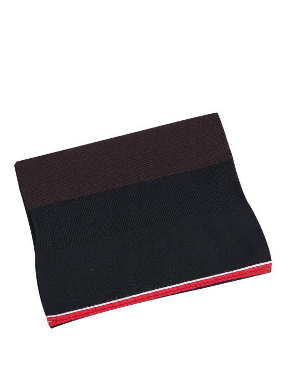 2018 Einfache Farbe Spleiß Muster Häkeln Gestrickt Langen Schal Von
