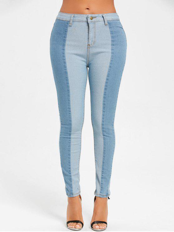 جينز ضيق بأسلوبين دانيم - غائم S