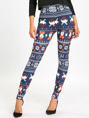 Christmas Allover Print High Waist Leggings