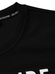Blanco Color Describe Xl Block Sudadera Negro Y Graphic fPBxqwwzOn