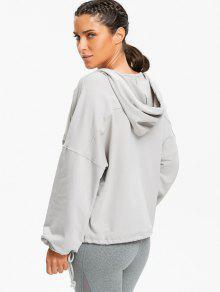 Kangaroo Pocket Low Cut Hoodie