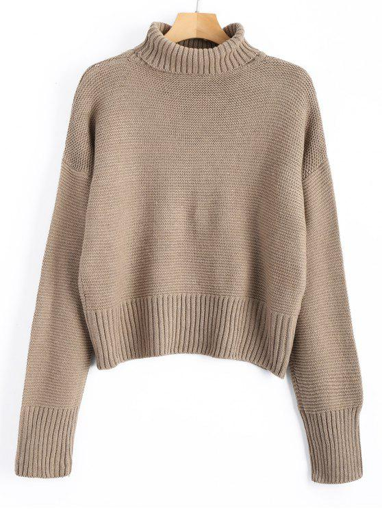 Turtleneck Sweater CAMEL: Sweaters ONE SIZE | ZAFUL