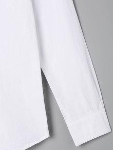 Musical Blanco Con Bordada La Bolsillo Animados Con Nota De Camisa Dibujos Un 4FwUxII
