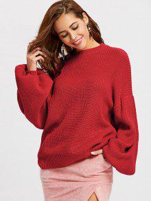 Bluza z kapturem Meck Latte Sleeve Oversized Sweater