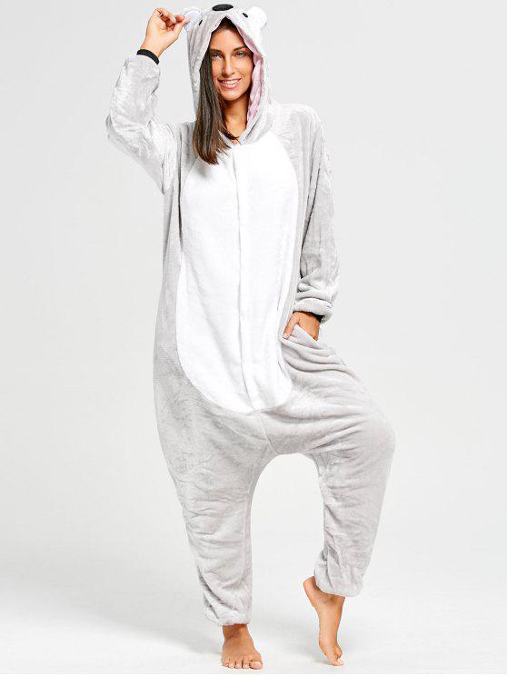 39% OFF  2019 Cute Koala Animal Onesie Pajamas With Trap Door In ... 7d0dcac35