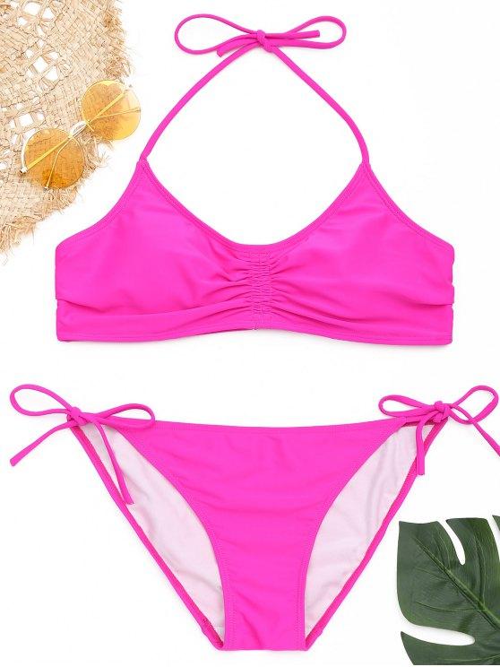 Smocked Halter Bikini Set - Tutti Frutti S