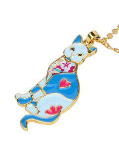 Alloy Lucky Animal Pendant Necklace - Pattern B