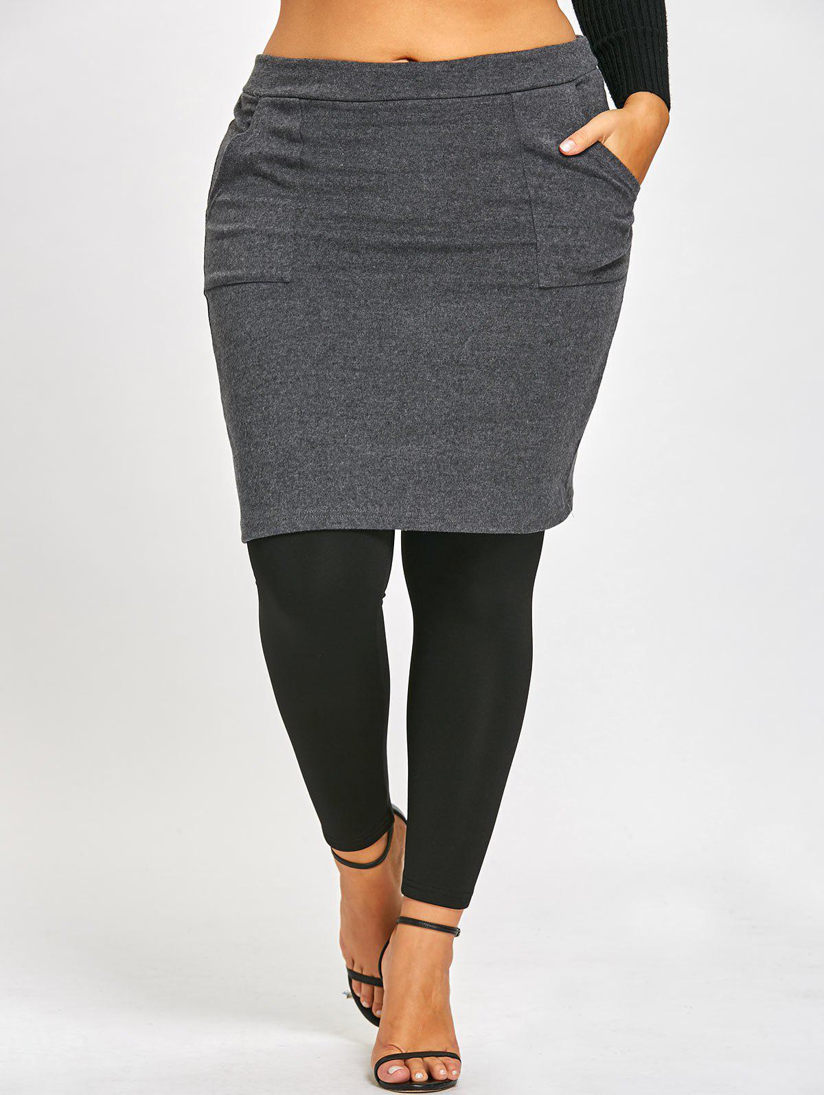 Jambières à jupes grande taille