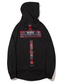 Negro Streetwear Patch Design 2xl Hoodie ggX76q