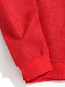Reno De Navidad Rojo Gamuza Sudadera De Xl De F4xgw7w