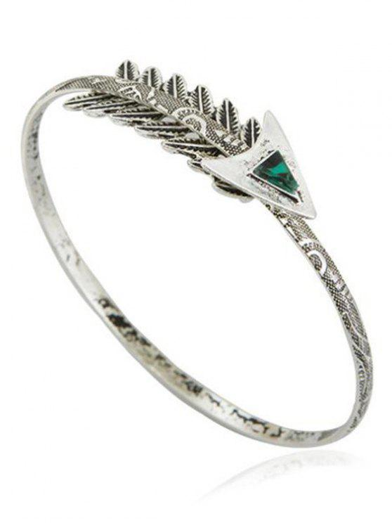 online Vintage Arrow Arm Bracelet - SILVER