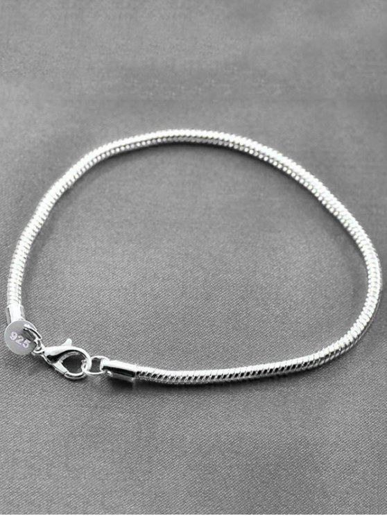 Schlangenkette Armband - Silber