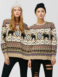 Christmas Two Person Reindeer Sweater