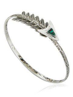 Bracelet De Bras De Flèche Vintage - Argent