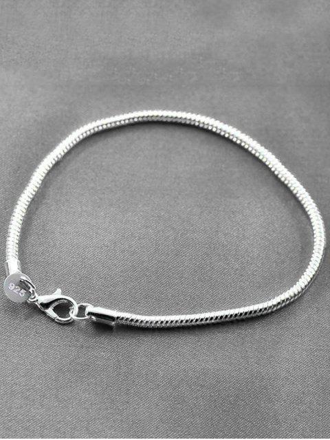 women Snake Chain Bracelet - SILVER  Mobile