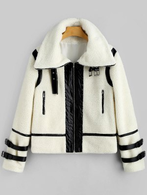 Zaful shearling coat