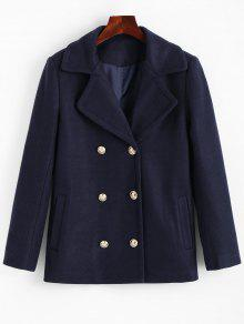 Zaful navy blue coat