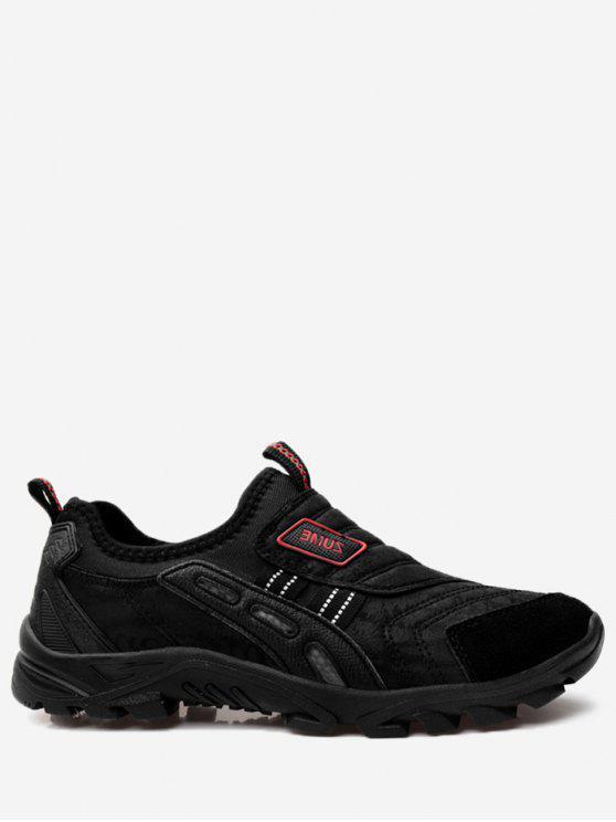 shops Antiskid Slip On Casual Shoes - BLACK 39