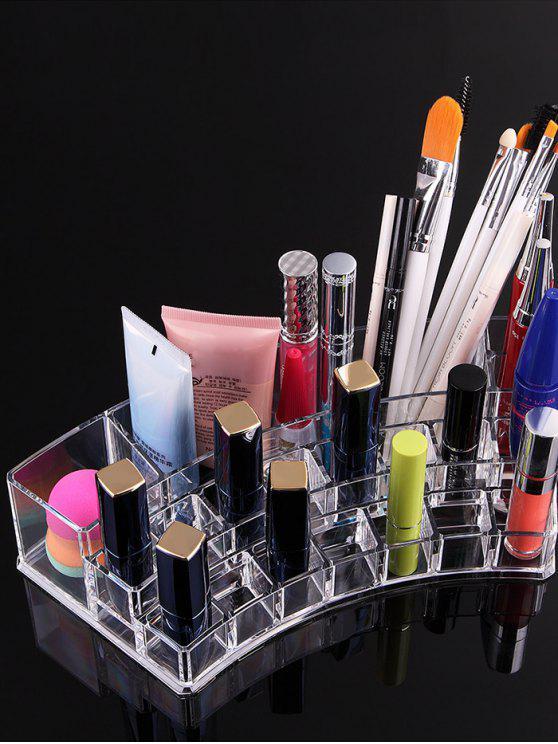 شفافة الاكريليك مستحضرات التجميل تخزين مربع القضية - شفاف