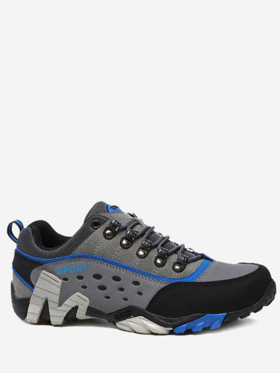 hot Antiskid Outdoor Casual Travel Hiking Athletic Shoes - ROYAL 44