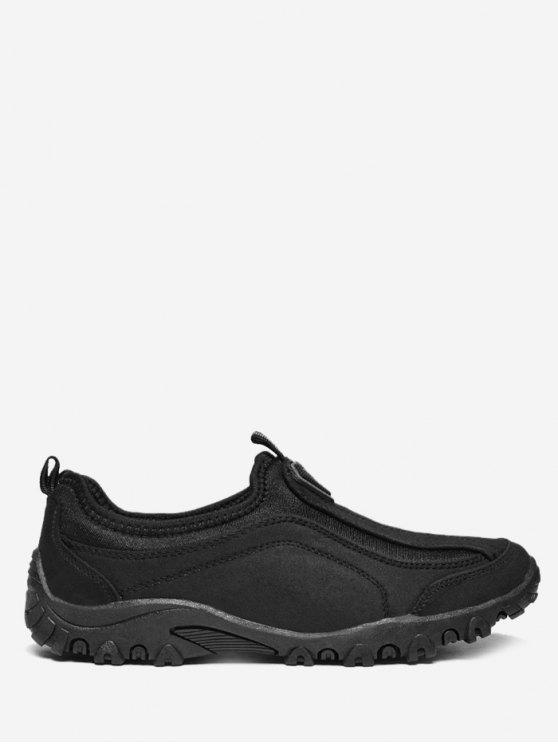 latest Outdoor Jogging Casual Slip On Shoes - BLACK 42