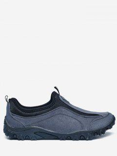 Outdoor Jogging Casual Slip On Shoes - Blue 40