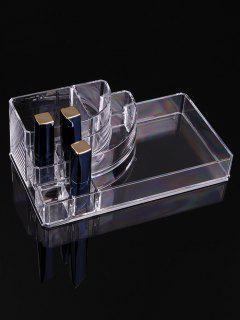 Transparent Acrylic Cosmetics Storage Box - Transparent