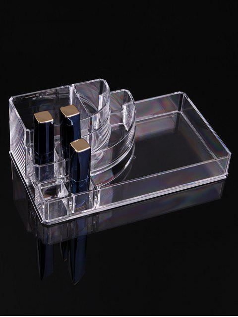 latest Transparent Acrylic Cosmetics Storage Box - TRANSPARENT  Mobile