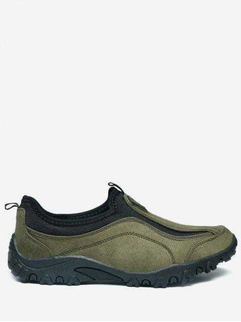 womens Outdoor Jogging Casual Slip On Shoes - GREEN 41 Mobile