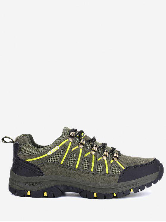 best Casual Breathable Athletic Outdoor Hiking Shoes - ARMY GREEN 43