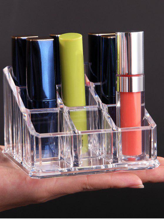 Caja de almacenamiento transparente de acrílico de los cosméticos - Transparente