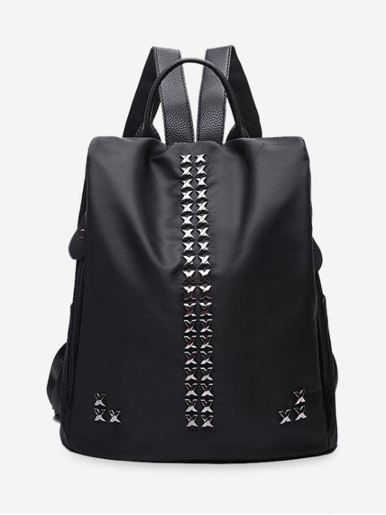 Mochila Criss Cross Metal - Preto