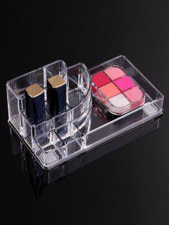 Acrylic Transparent Cosmetics Sundries Storage Box - Transparent