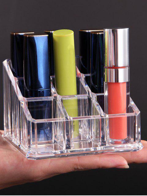 Caja de almacenamiento transparente de acrílico de los cosméticos - Transparente  Mobile