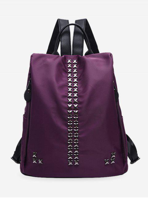 Criss Cross Metallrucksack - Lila  Mobile