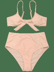 Talle De Albaricoque De Bikini Talle 3xl Alto Alto Atado 5dRRwT