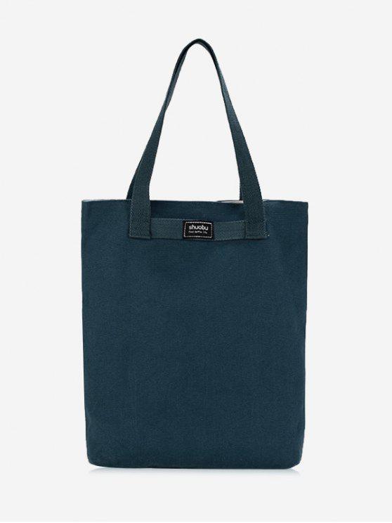 Bolsa de ombro Eco de tela - Azul