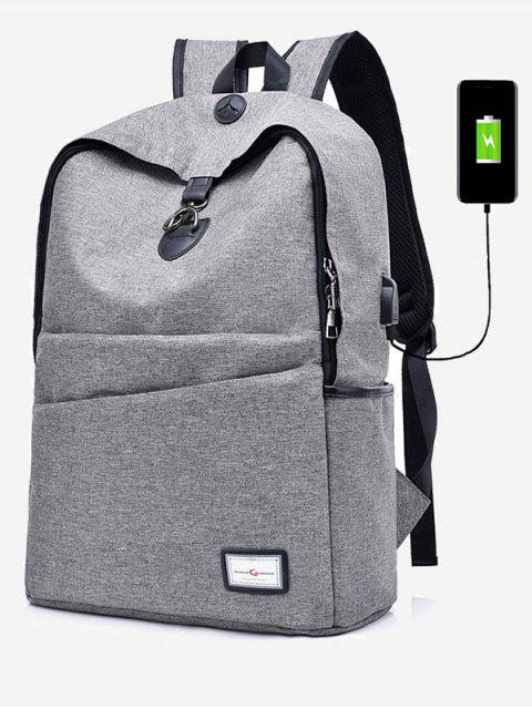 online Multi Function USB Charging Port Backpack -   Mobile