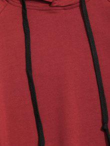 Panel Kangaroo De Ropa 3xl Vino Rojo Pocket Hem Hoodie Hombre qqgxRBC
