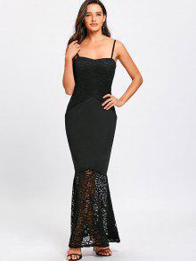 Strap Mermaid Dress