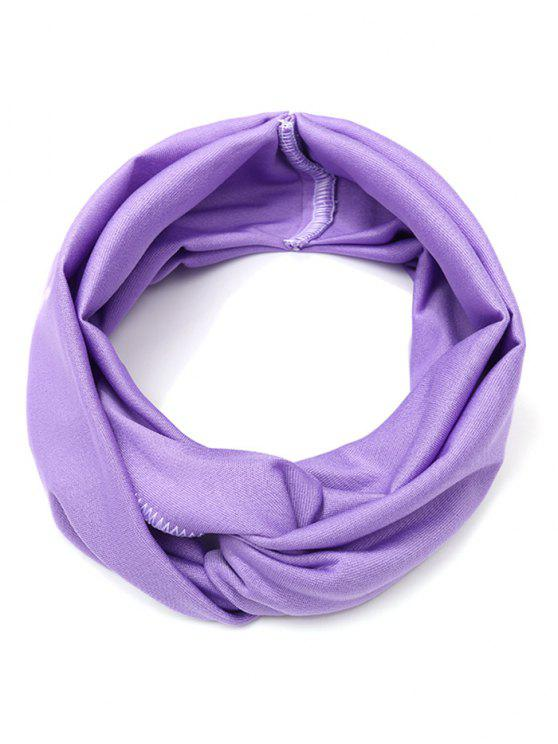 outfit Wide Elastic Hair Band - LIGHT PURPLE