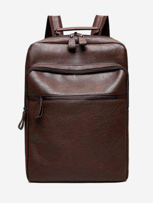 PU Leather Multi Function Backpack