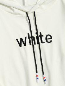 Striped Men Blanco 2xl Graphic Clothes Hoodie FwpFBd