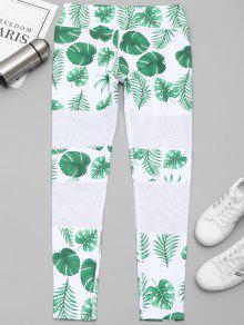 ليجنز رياضي شبكي طباعة الورقة - الأبيض والأخضر L