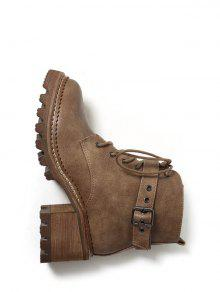 Cordones de zapatos de tacón ante de último, color marrón, talla 36
